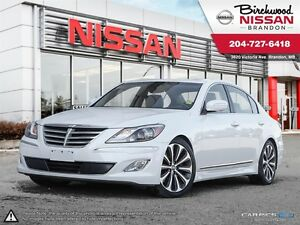 2012 Hyundai Genesis Sedan LOCAL ONE OWNER RSPEC 5.0L V8 RARE!!