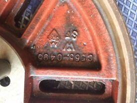 Lathe face plate 0565-0495 2500 R.P.M max