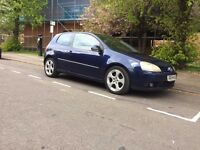 Vw Golf MK5 2.0 GT TDI, SAT NAV, Full MOT, low mileage