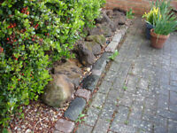 Carrstone rockery stones
