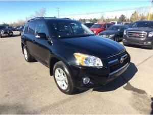 2009 Toyota RAV4 / LIMITED / LEATHER/ S/ROOF / B/U CAM / LEATHER