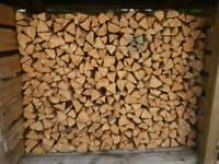Seasoned Softwood Firewood 8 Cubic Metres