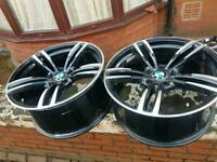 BMW 5x120 740d Msport alloys Diamond cut