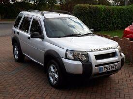 2004 Land Rover Freelander 2.5 V6 Auto- ONLY 51k Miles - Facelift - MOT - P/X Welcome