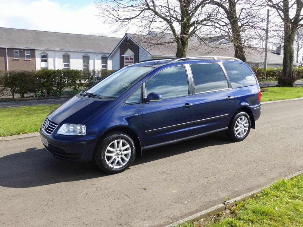 2009 vw sharan 1 9 tdi se 7 seater motd 3 2017 very tidy throughout in ballymena county. Black Bedroom Furniture Sets. Home Design Ideas