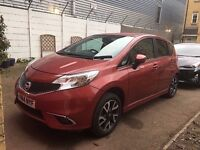 NISSAN NOTE ACENTA (PREMIUM STYLE PACK)1.5 DIESEL VERY ECONOMICAL