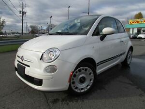 2012 Fiat 500C POP BAS KM (58000) COVERTIBLE