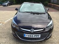 2015 (65) VAUXHALL ASTRA ELITE BROWN 1.6i VVT 16V 5DR (LOW MILEAGE 2158) IMMACULATE NEW CONDITION