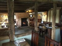 Chef de partie/Sous Chef. Independent pub/restarurant -The Bull Blackmore End near Braintree Essex.