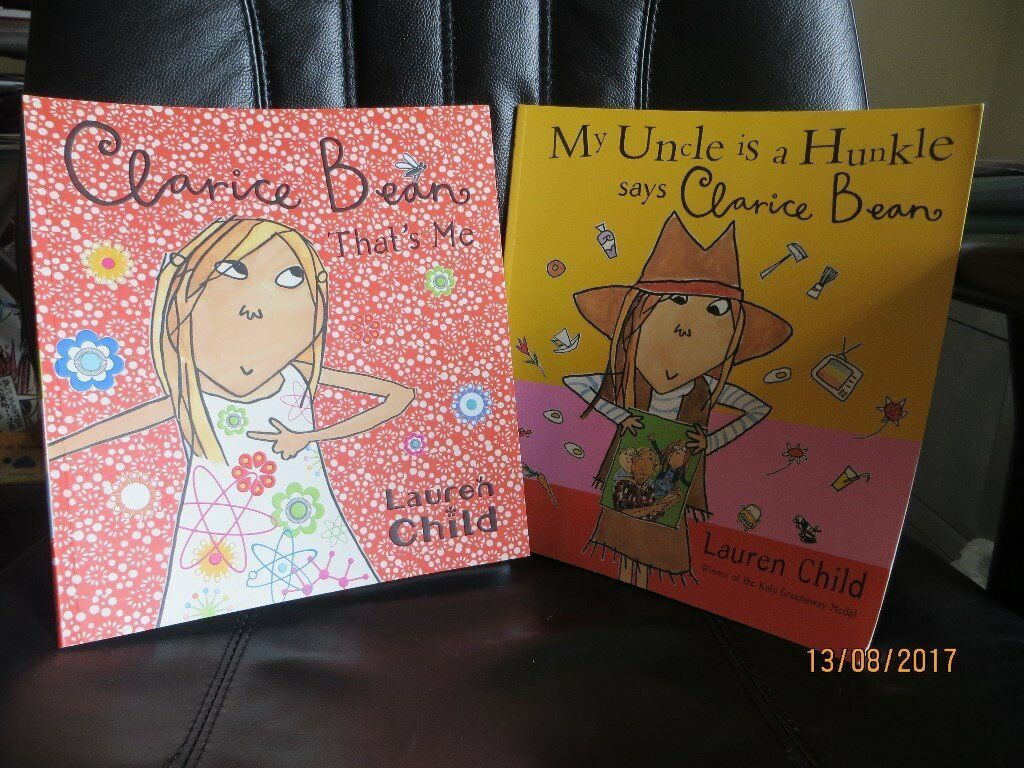 2 Clarice Bean books