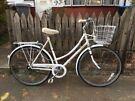 Ladies vintage Dutch style bike with basket