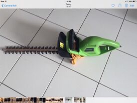 Challenge electric hedge trimmer and strimmer