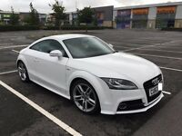 Audi TT 1.8tfsi S Line, Imaculate condition and very low mileage