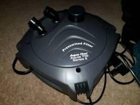 Auqa one. Series 2 Aquiriam external pump