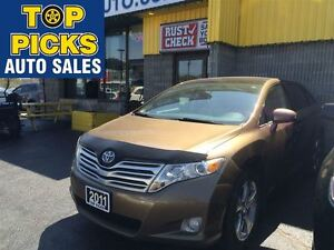 2011 Toyota Venza XLE V6, AWD, 20'S, NAV, SUNROOF, LEATHER!