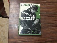 Simenon the patience of Margret hardback dustjacket 1945 VGC ok to post free with PayPal
