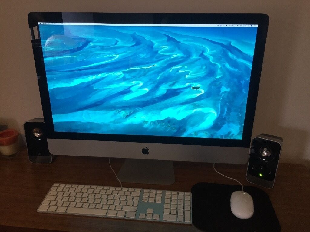 "Imac 27"" 16GB RAM, 1TB ROM, intel Core i5, 3.1Ghzin Stratford, LondonGumtree - Imac 27"" From mid 2011 i5 3.1 GHz 16 GB Ram 1TB ROM Works perfectly, include keyboard, mouse,(extra mouse if you dont like the apple mouse) and speakers Logitec. COLLECTION ONLY"