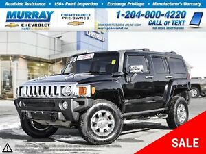 2006 Hummer H3 Base *Leather Seats, All Wheel Drive, Sunroof*