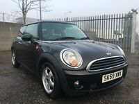 2009 MINI Hatch 1.4 One 3dr / 3 Month Warranty / 1 Year MOT