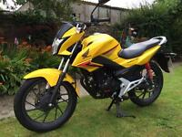 HONDA CB125F, LOW MILEAGE 16 PLATE, BASICALLY NEW ! ONLY 160 MILES