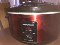 Morphy Richards slow cooker.