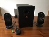 Logitech X-210 Computer Speakers with Subwoofer