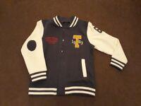 Letterman Style jacket size 5-6 years