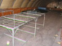 TRACKTERS/PORTABLE COOLERS/TABLES/TROLLYES/PLASTIC PUNNITS OPEN TO OFFERS