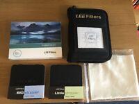 Lee Filters Bundle: Lee Big Stopper, Lee Little Stopper, Foundation Kit & Pouch