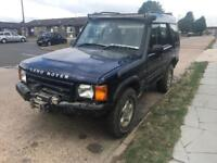 2000 LANDROVER DISCOVERY TD5 MANUAL OFF ROADER