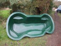 Fibreglass pond