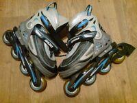 Bronx multi-size (4 to 8) rollerblades inline skates rollerskaters