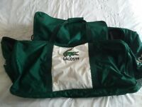 Lacoste Luggage/Suitcase Green