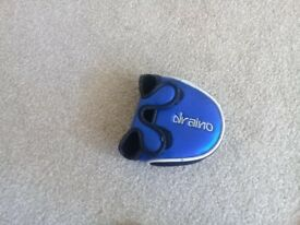 Mizuno draino putter. Lovely condition putter with head cover