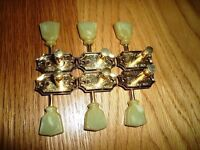 1970s Gibson Deluxe Kluson Tuners Gold Plated Patent Number D-164900