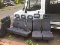 Minibus seats ldv convoy