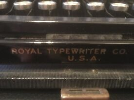 American Royal portable typewriter