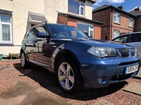 For sale I have my 2004 BMW X3 2.5i in immaculate condition