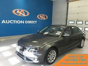 2012 Audi A4 2.0T Premium (Tiptronic), AWD, FINANCE NOW!!