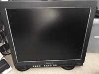 PANASONIC BT-LH1800P MONITOR BROADCAST FILM HD - WITH HD MODULE AND DESK STAND