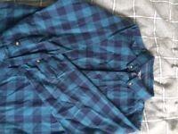 Boys Check Shirt age 8/9