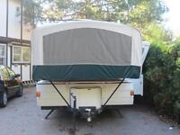 2000 Coleman Niagara Elite tent trailer (with air condtioning)