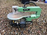 Rexon Scroll saw/jigsaw in good condition with tilt platform