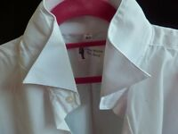"""BRAND NEW DAVID WHITE SHIRT FROM THE SUIT SHOP COLLAR SIZE 17"""""""
