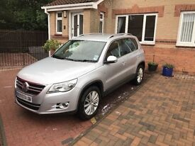 2010 VW Tiguan in Silver - Low Mileage, family owned and genuine reason for sale