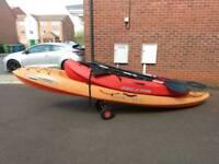 2x ocean kayaks