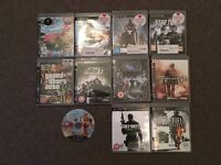 Playstation 3 120GB Slim + 11 Games