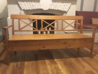 Wooden storage bench from IKEA - Very good condition