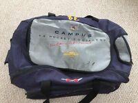 Campus - large blue kit bag