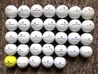 33 Wilson Staff DX2 Soft golf balls in excellent condition